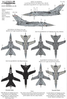 Xtradecal X48194 1/48 Panavia Tornado F.3 Part 1 Model Decals - SGS Model Store