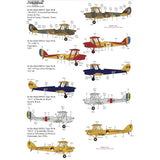 Xtradecal X48207 1/48 de Havilland DH.82a Tiger Moth Pt3 Model Decals - SGS Model Store