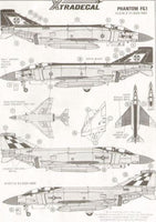 Xtradecal X72004 McDonnell-Douglas FG.1 Phantom Model Decals - SGS Model Store