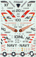 Xtradecal X72027 1/72 F-3B/H Demon Model Decals - SGS Model Store