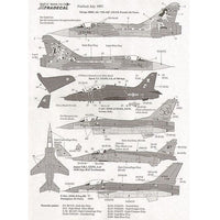 Xtradecal X72049 1/72 RIAT Fairford 1997 Model Decals