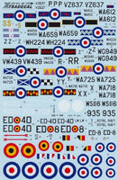 Xtradecal X72087 1/72 Gloster Meteor T.7 Model Decals - SGS Model Store