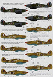 Xtradecal X72113 1/72 Hawker Hurricane Mk.IIc Model Decals - SGS Model Store