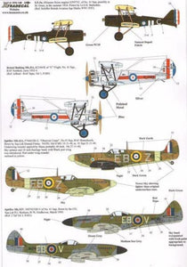 Xtradecal X72138 1/72 RAF History 41 Sqn Pt 1 Model Decals - SGS Model Store