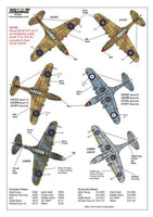 Xtradecal X72139 1/72 Curtiss P-40B Tomahawk Model Decals - SGS Model Store