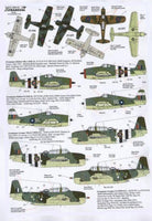 Xtradecal X72141 1/72 Yanks with Roundels Part 2 FAA Model Decals - SGS Model Store