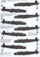 Xtradecal X72146 1/72 Handley-Page Halifax Model Decals - SGS Model Store
