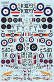 Xtradecal X72148 1/72 The History of 4 Squadron Model Decals - SGS Model Store