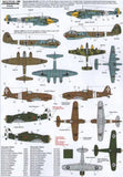Xtradecal X72162 1/72 The Battle for Malta Axis Model Decals - SGS Model Store
