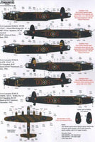 Xtradecal X72176 1/72 Avro Lancaster B.II 1943 Model Decals - SGS Model Store