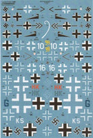 Xtradecal X72197 1/72 D-Day 70th Anniversary Part 4 Luftflotte 3 Model Decals - SGS Model Store