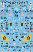Xtradecal X72201 1/72 BAC/EE Lightning T.4/T.5 Part 2 Model Decals - SGS Model Store