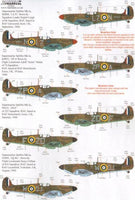 Xtradecal X72221 1/72 Spitfire Mk.Ia Battle of Britain 1940 Pt.1 Model Decals - SGS Model Store