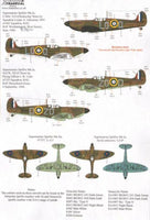 Xtradecal X72224 1/72 Spitfire Mk.Ia Battle of Britain 1940 Pt.2 Model Decals - SGS Model Store