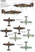 Xtradecal X72225 1/72 Hurricane Mk.I Battle of Britain 1940 Pt.2 Model Decals - SGS Model Store