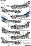Xtradecal X72241 1/72 US Navy Vought A-7 Corsair II Part Two Model Decals - SGS Model Store