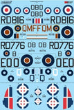 Xtradecal X72244 1/72 Bristol Beaufighter Mk.VI/TF.Mk.X Model Decals - SGS Model Store