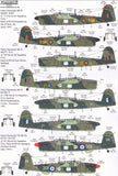 Xtradecal X72267 1/72 Fairey Barracuda Collection Model Decals