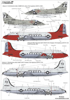 Xtradecal X72284 1/72 USN Reserve Air Wing 91 Model Decals - SGS Model Store
