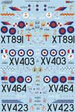 Xtradecal X72295 1/72 RAF FG.1 & FGR.2 Phantom Pt.6 Model Decals - SGS Model Store