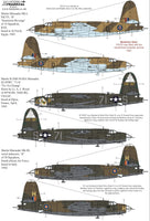 Xtradecal X72300 1/72 Martin B-26 Marauder Model Decals - SGS Model Store