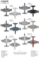 Xtradecal 1//72 X72301 English Electric CANBERRA B.2 Decal Set