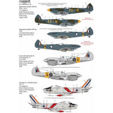 Xtradecal X72324 1/72 SAAF Fighters/Attack Aircraft Post War - Modern Day Pt2
