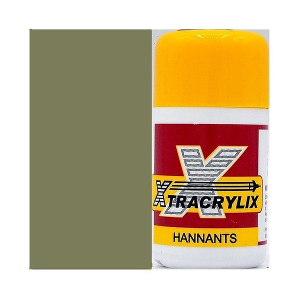 Xtracrylix XA1010 Aircraft Grey/Green Matt BS283 Acrylic Paint 16ml
