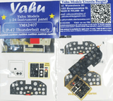 Yahu Models YMA2407 1/24 Republic P-47D Thunderbolt early version Instrument Panel - SGS Model Store