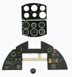 Yahu Models YMA2409 1/24 Hawker Typhoon Mk.Ib early Instrument Panel for Airfix - SGS Model Store