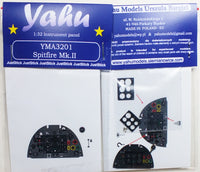 Yahu Models YMA3201 1/32 Spitfire Mk.II Instrument Panel for Revell