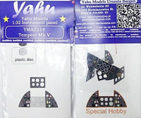 Yahu Models YMA3214 1/32 Tempest Mk.V Instrument Panel for Special Hobby - SGS Model Store