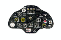Yahu Models YMA3232 1/32 Polikarpov I-16 type 24 Instrument Panel