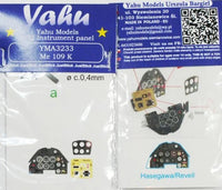 Yahu Models YMA3233 1/32 Messerschmitt Bf-109K-4 Instrument Panel