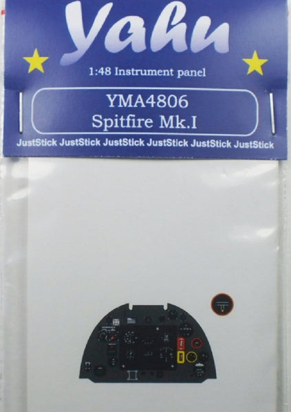 Yahu Models YMA4806 1/48 Spitfire Mk.I Instrument Panel for Airfix - SGS Model Store