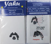Yahu Models YMA4810 1/48 Macchi C.205 Instrument Panel for Hasegawa - SGS Model Store