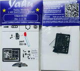 Yahu Models YMA4879 1/48 Heinkel He-111H Instrument Panel for ICM - SGS Model Store