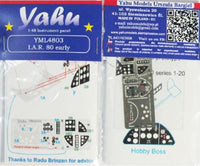Yahu Models YML4803 1/48 I.A.R. 80 early Instrument Panel - SGS Model Store