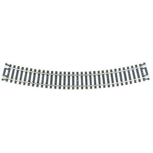 "Atlas 833 H0 Code 100 18"" Snap-Track Curved Track 457.2mm Radius 30 Deg - SGS Model Store"