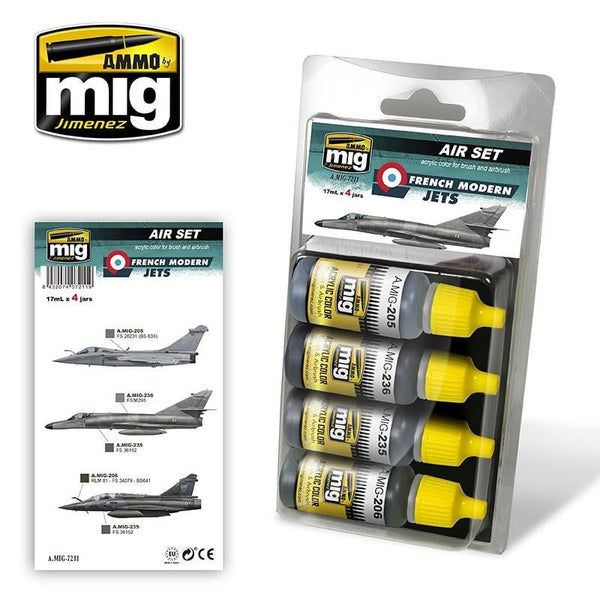 AMMO by Mig AMIG7211 French Modern Jets - SGS Model Store