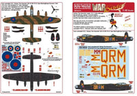 Kits-World KW148101 1/48 Avro Lancaster B.III Mickey The Moocher Model Decals - SGS Model Store