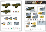 Kits-World KW172022 1/72 Luftwaffe Geschwader Insignia Model Decals - SGS Model Store
