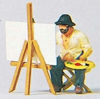 Preiser 28050 H0 Scale Landscape Painter Model Railway Figure