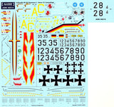 Airdoc ADM48018 1/48 McDonnell RF-4E Phantoms Luftwaffe Part 2 Model Decals - SGS Model Store