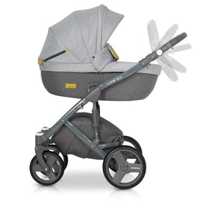 Exclusive 3 in 1 Baby Pram with Car-seat Travel system - Blu Retail Group