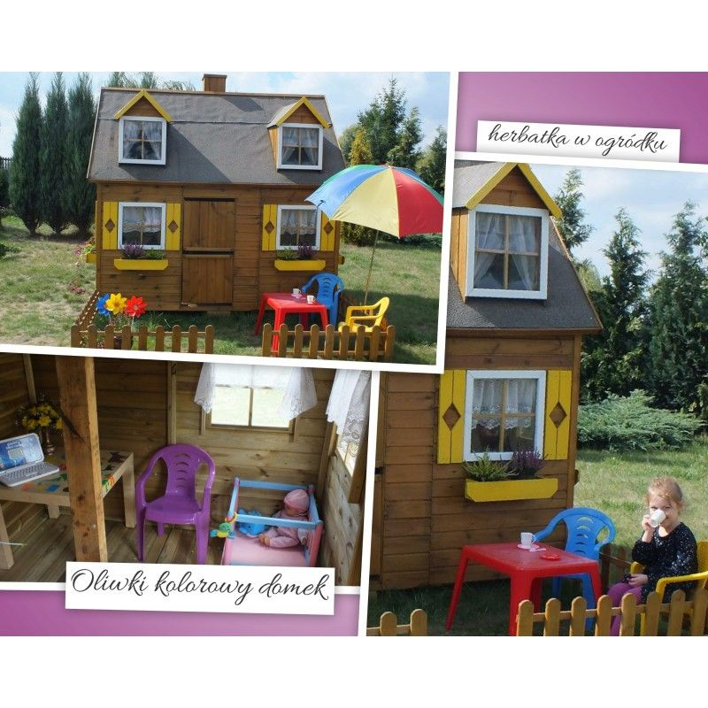 Wooden Play Hut Mary - Blu Retail Group