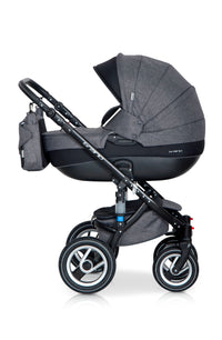 3 In 1 Baby Pram with Infant Car Seat, Carrycot and Pushchair - Blu Retail Group3-in-1-baby-pram-with-infant-car-seat
