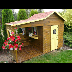 Garden House Elisabeth Made Of Wood For Children - Blu Retail Group