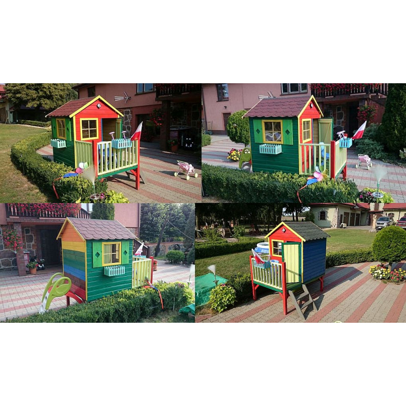 Wooden Garden House Tom For Children - Blu Retail Group