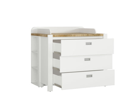Dreviso Baby Changing Table -Chest of Drawers-bluretailgroup